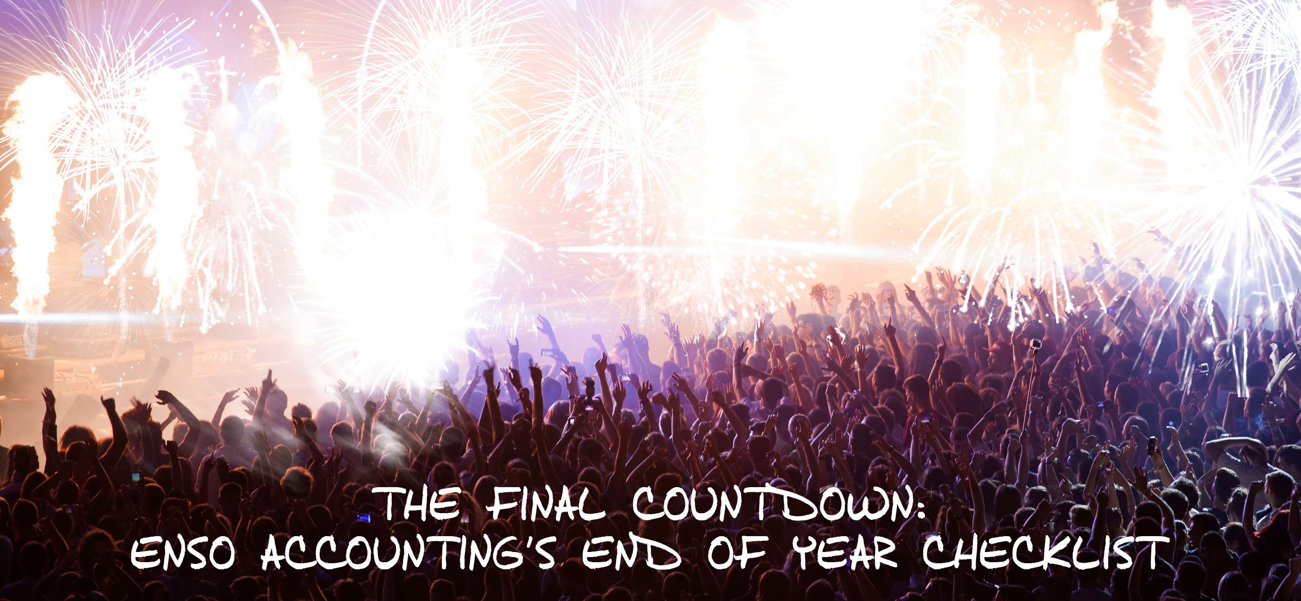 The Final Countdown end of year checklist