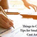 Tips for small business cost analysis
